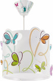 Dalber hanglamp Butterfly 62142 wit_