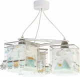 Dalber 3-lamps hanglamp The Night Train 63534 wit_