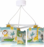 Dalber 3-lamps hanglamp My Little Jungle 76114 multi-color_