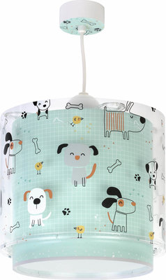 Dalber hanglamp Happy Dogs 61312 groen