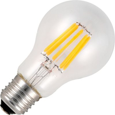 Schiefer led filament e27 gls 6.5w a60x105mm helder 2500k dimbaar