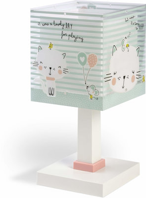 Dalber tafellamp Loving Cat 63321 groen
