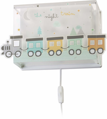 Dalber wandlamp The Night Train 63538 wit