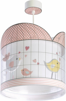 Dalber hanglamp Little Birds 71282 roze
