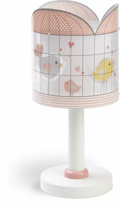 Dalber tafellamp Little Birds 71281 roze