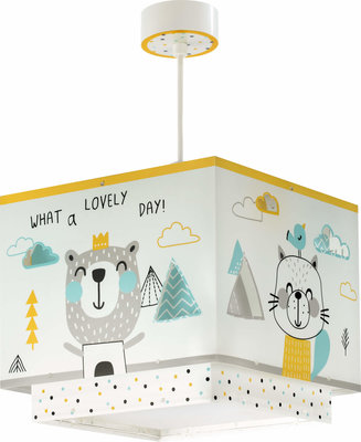 Dalber hanglamp Hello Little 73242 multi-color
