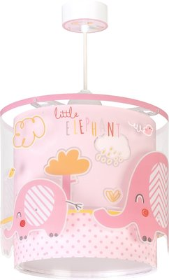 Dalber hanglamp Little Elephants 61332S roze