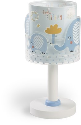 Dalber tafellamp Little Elephants 61331T blauw