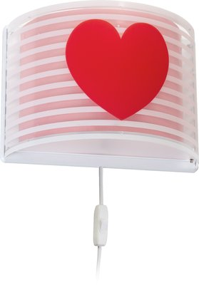 Dalber wandlamp Light Feeling 81198S roze