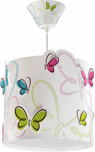 Dalber hanglamp Butterfly 62142 wit