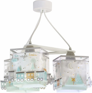 Dalber 3-lamps hanglamp The Night Train 63534 wit